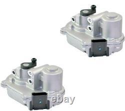 2x INTAKE MANIFOLD 2.7 3.0 TDI + ACTUATORS FOR AUDI A4 A5 A6 Q7 VW TOUAREG