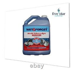 3 x WET AND FORGET MOULD, ALGAE AND LICHEN REMOVAL 5 Litre