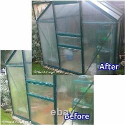 4 X 5l Wet And Forget Mould, Algae And Lichen Removal & Makes 30l New