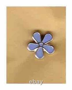 50 x small forget me not lapel badge masonic the craft masonry freemasonry blue