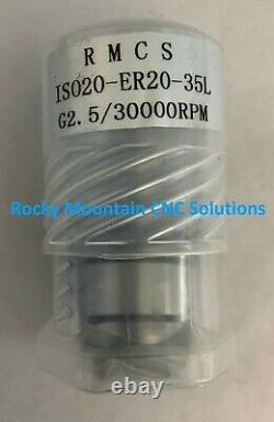 5-Pack ISO20 ER20-35 Tool Holder Balanced 30,000 RPMS- Get 5 For The Price of 4
