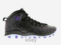 Air Jordan Retro 10 Paris City Pack Black Purple Uk 7.5 310805-018 Sale Item
