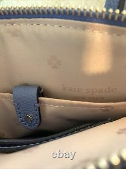 Authentic Kate Spade New York Margaux Mini Satchel Forget Me Not / Baby Blue