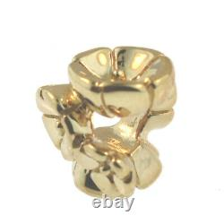 Authentic Trollbeads 18K Gold 21262 Forget Me Not, Gold 0