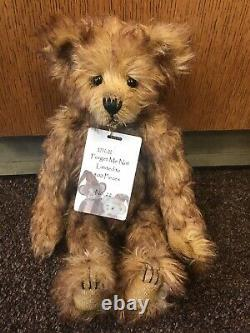 Charlie Bears Retired Forget Me Not 14 Mohair 5 Way Jointed NWT #22 of 400