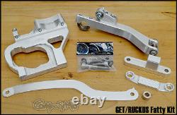 Composimo Billet Aluminum Fatty Mount Kit For Ruckus With Get Motor / 8 Wheel