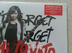 Demi Lovato Don't Forget (LP) Limited ED Clear with Red & Black Splatter Vinyl