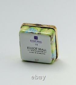 Elliot Hall Enamels- Fuchsia's & Forget me nots 1/1 Ltd Edition By E. Todd