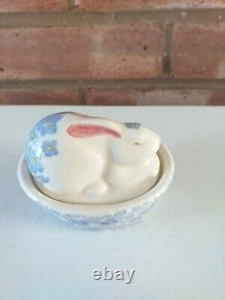 Emma Bridgewater Bunny On A Basket Forget Me Not 1st Quality New Out 2021