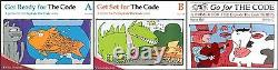 Explode the Code SET-Get Ready, Get Set, Go for the Code, Books 1-8, + 5 Guides