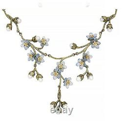 Forget Me Not Necklace By Michael Michaud #9177