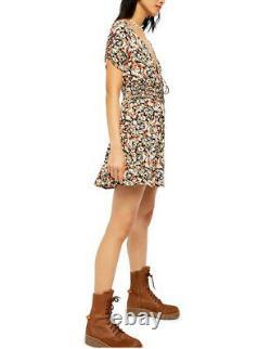 Free People Womens Forget Me Not OB1086664 Mini Dress Multicolour Size US 2