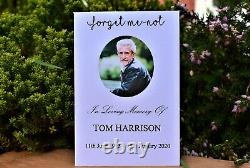 Funeral Favours Personalised Seed Packets Remembrance Forget Me Not Memorial