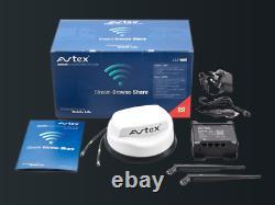 Get Internet On Site Avtex AMR985 3G 4G 5G Mobile Solution for Caravan Motorhome