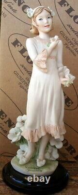 Giuseppe Armani, Forget Me Not, Retired, #1435c, Mother's Day Figurine Lqqk