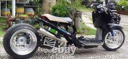 Honda Ruckus stretched EDZ racing Exhaust For GET 49cc nps50 jst4shwruckscom