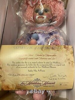 Lee Middleton Forget Me Not, Smiley Has A Frown Doll