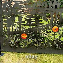 Lest We Forget Panel Privacy Screen Garden Patio Divider Outdoor Balcony Deck UK