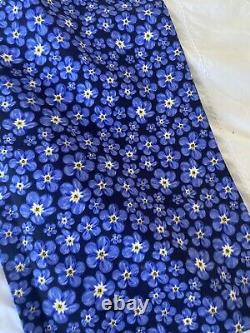 Lovely BNWT Lucy & Yak LE Forget Me Not Floral Dungarees 14 R L30