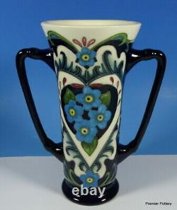 MOORCROFT Amour Forget Me Not Flower Rachel Bishop 6 Loving Cup RRP £325 Boxed