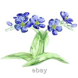 New Swarovski Forget-me-not #5374947 Brand New In Box Blue Flowers Save$ F/sh