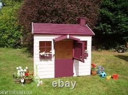 New Wooden Country Cottage Playhouse NEW Painted or Unpainted