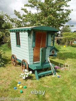 New Wooden Romany Caravan Playhouse NEW Painted or Unpainted