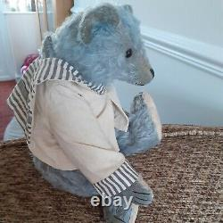 Ooak one of a kind artist bear. Forget me not by Joy. NWT