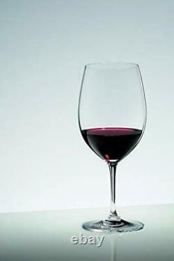 Riedel VINUM Bordeaux/Merlot/Cabernet Wine Glasses Pay for 6 get 8