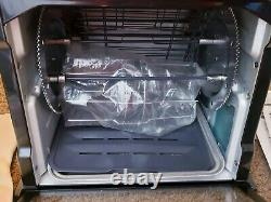Ronco Showtime Jr. 2500 Black Rotisserie BBQ Oven Chicken (New) Set It Forget It