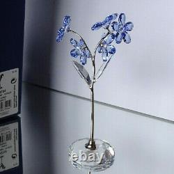 SWAROVSKI 5490754 Blumenträume Vergiss Mein Nicht Forget Me Not NEU OVP MINT NEW