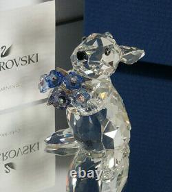 SWAROVSKI Hase mit Vergissmeinicht Rabbit with Forget me not MIB 1142953 OVP MIB