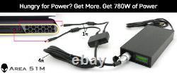 Single 780 Watt AC Adapter 110V-250V for Alienware Area 51m GET MORE POWER