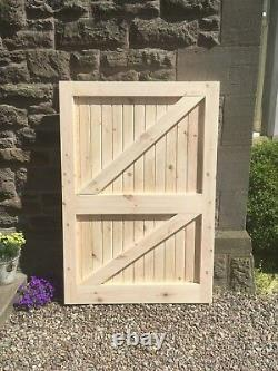 Solid Wooden Garden Gate, Get in touch for details and delivery