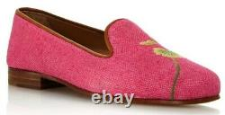 Stubbs & Wootton Forget Me Not Floral Loafers Women's BRAND NEW IN ORIGINAL BOX