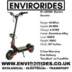 Super Fast eScooter 50mph (Visit EnviroRides, Get It For £1,249.99)