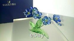 Swarovski Paradise Blume Flower Vergiss Mein Nicht Forget Me Not 5374947 Neu