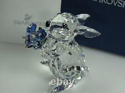 Swarovski Rabbit with Forget-me-not MIB 1142953