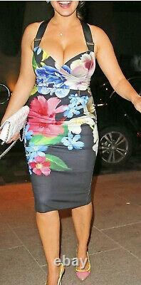Ted Baker Alexa Forget Me Not Floral Dress Size 4 (UK 14)