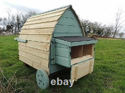 The Chicken Pod Hen House On Wheels Painted / Unpainted