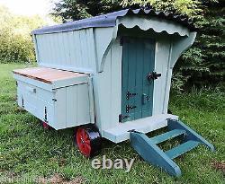 The Shepherds Hut Hen House On Wheels Painted / Unpainted