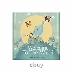 Welcome to the World keepsake gift book for a new ba. By Forget Me Not Books