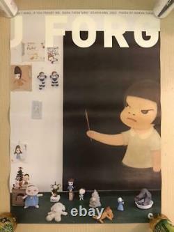 Yoshitomo Nara I DON'T MIND, IF YOU FORGET ME Poster Art 5 set 2 drawing Japan